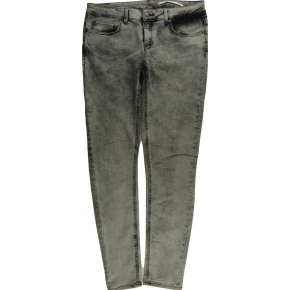 Zara Slim Fit Grey Jegging Jeans Women's 8 C773